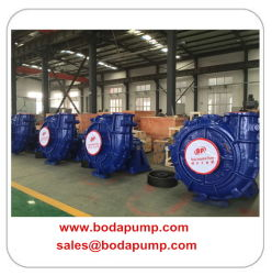 Single Stage Used Slurry Coal Sludge Pumps