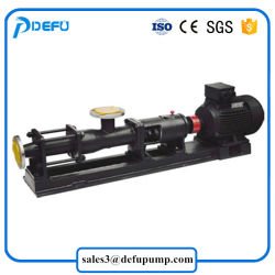 G Series High Viscosity Mono Screw Slurry Transfer Pump