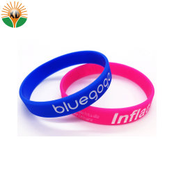 Newest Sports Rubber Wristbands for Decoration