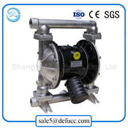 Stainless Steel Air Double Vacuum Membrane Slurry Pump