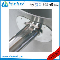 Stainless Steel Hard Cast Heat Conduction Combine Sandwich Bottom Induction Sanded Pan