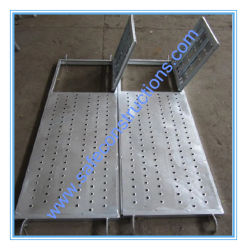 Safe Durable Scaffolding Open Door Plank for Construction