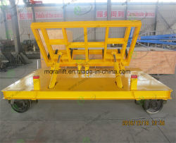 Battery Operated Transfer Cart Moving on the Railway
