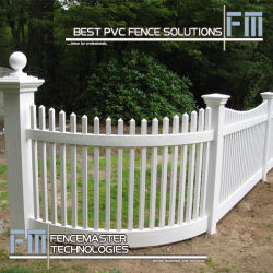 PVC Fence for North American (FM404)