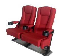 Cinema Hall Seating Fabric Movie Theater Seat Home Theater Chair (EB02)