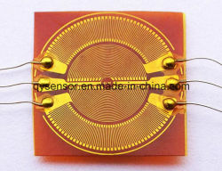 Membran Rosette Strain Gauge with 4 Measuring Grids Gage