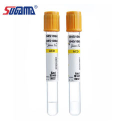 Factory Direct Hda Wholesale Glass Red and Blue Cap Capillary Tube with Heparinized