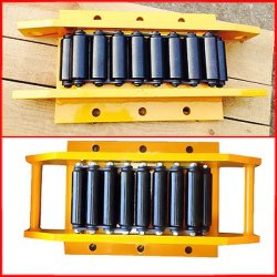 1--1000t Customized High Performance Durable Quality Cargo Trolley Machinery Moving Skates