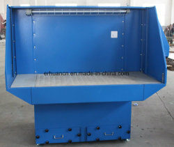 Central cartridge Downdraft Bench, Manual Self-Cleaning Filter