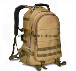 60L Pattern Magic Tape Fire Proof Army Military Backpack Bag