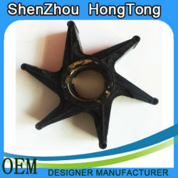 Slurry Pump Rubber Impeller / Natural Rubber Pump Impeller / Rubber Impeller Manufacturer
