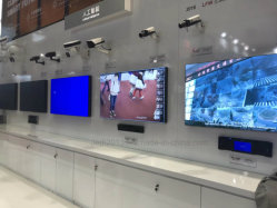 42 60 Inch Large LCD Splicing Screen for Command Center (Our factory took part in the Consumer Electonics International Exhibition)