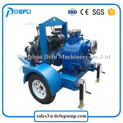 Factory Supply Diesel Engine Self Priming Centrifugal Sludge Pump