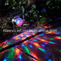 2018 New Solar Outdoor RGB Rotating Stage Project Light (RS200)