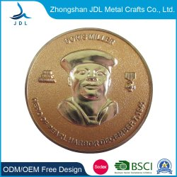 Metal Wholesale Challenge Military as Gift Gold Military Police Commemorate for Promotional Gift Coin (405)