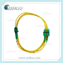 Duplex Fiber Optic Patch Cord LC to Sc (UPC/APC)