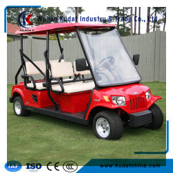 4seats Golf Cart with 80km for One Charging