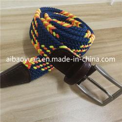 Fashion Yellow Speckled Imagine Strap Stretch Belt