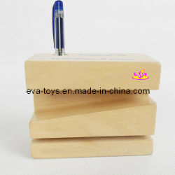 Wooden Pen Holder,Craft (W02A001)
