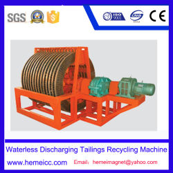 Magnetic Separator, Waterless Discharging Tailings Recycling