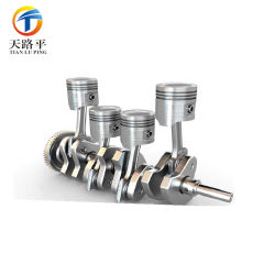 Custom CNC Machining Die Casting Engine Spare Part
