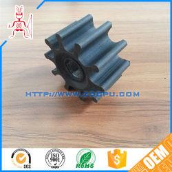 Customized Polyurethane PU Rubber Impeller / Nylon Slurry Pump Impeller