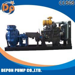 Slurry Pump Delivering Fine Coal to Dewatering Screen in a Coal Washery