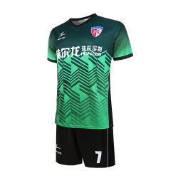 Custom Sublimated Soccer Team Uniform Football Jersey Shirt Design Sublimation Reversible Custom Soccer Uniform