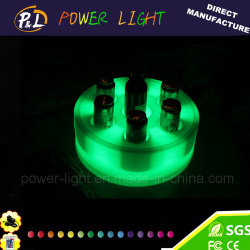 LED Color Changing Wireless Bar Furniture LED Wine Tray