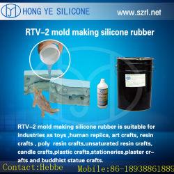 RTV-2 Manual Model Design Silicone Rubber for PVC Plastic Model
