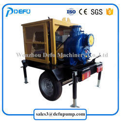 Horizontal Diesel Engine Self Priming Slurry Pumps for Sewage Transfer