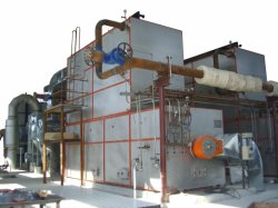 Coal Water Fuel (CWF) Steam Generator for Power Plant