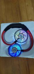 2020 Factory Wearable Sport Fan Neck Fan USB Charge Red and Black Color Fashioable Fan