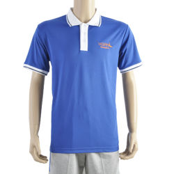 100% Polyester Plain Embroidered Sports Polo Shirt Customise Your Logo and Material Maden in China Factory Manufacturer