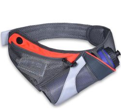 Outdoor Sport Mesh Single Kettle Fanny Pack (no including kettle)