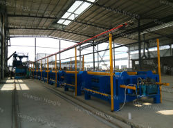 EPS Light Weight Sandwich Wall Panel Horizontal Automatic Production Line
