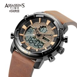 Assassin's Time Japan Movt Digital Sport Wrist Watch Cool Design