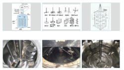 Electric Heating Slurry Mixing Tank for Cosmetic