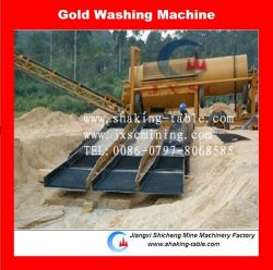 Gold Sluice Box Washing Plant