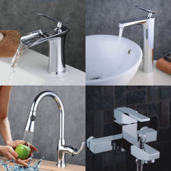 Bathroom Waterfall Br Lavatory Basin Kitchen Bathtub Water Shower Faucet