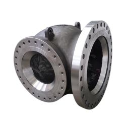 OEM ODM High Precision CNC Machining Large Cast Steel Aluminum Alloy Pipe Construction Parts Pump Valve Accessories for Oil/Water/Gas/Slurry