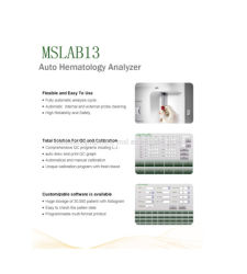 2018 Hot Touch Screen Mindray Hematology Analyzer Reagent (MSLAB13)