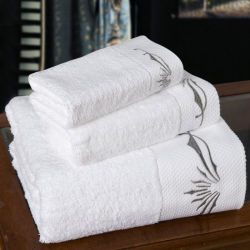 Soft Durable Cotton Quik Drying Sport Towel Embroidery Towel Set