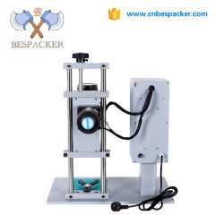 Bespacker DDX-450 Semi automatic small plastic screw water bottle glass jar capping machine