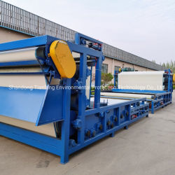 High Dewatering Efficiency Belt Filter Press Machinery Sludge Dewatering Systems for Urban Sewage Treatment Process