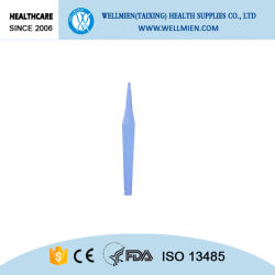 Sterile Surgical Gauze Forceps Plastic Tweezers