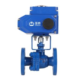 New Arrival The Fluid Resistance Is Small, Can Operate Frequently Electric Butterfly Valve Picture for High Precision