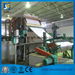 6 Tons Per Day Tissue Paper Machine, Toilet Paper Machine, Toilet Tissue Making Plant