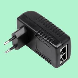 24W Black Poe Power Adapter