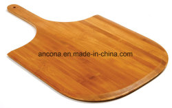 Fashionable High Quality Round Thin Pizza Cutting Board Bamboo Natural Wood Chopping Board Durable